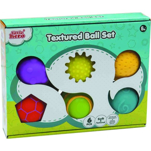 Textured Ball Set (6pcs)