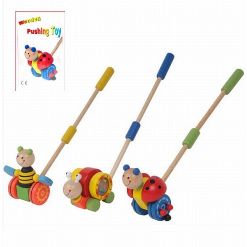 Wooden Pushing Toy - Boxed