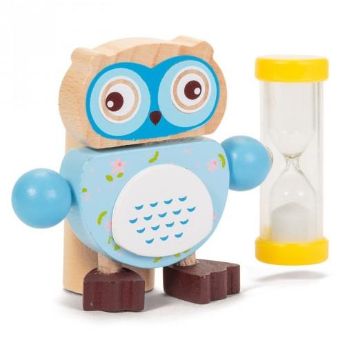 Owl Toothbrush Timer