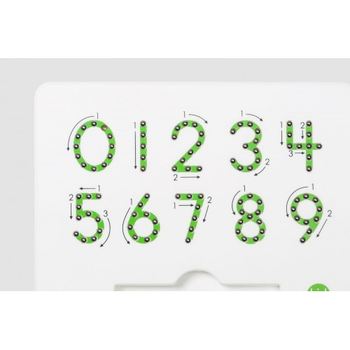 0-9 Magnatab (Magnetic Numbers)
