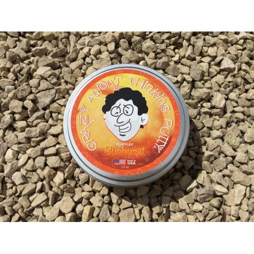 Crazy Aaron's Sunburst - Heat Sensitive Hypercolor Putty (4 inch tin)