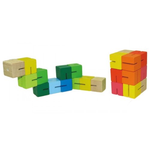 Jumbo Wooden Puzzle Cube