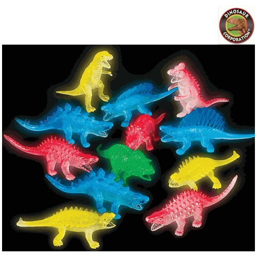 Glowing Dinosaurs (3 Pack)