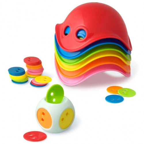 Bilibo Mini Game Box (sorting, matching, stacking, counting)