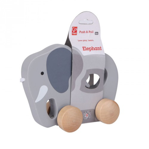 Elephant Push & Pull Toy