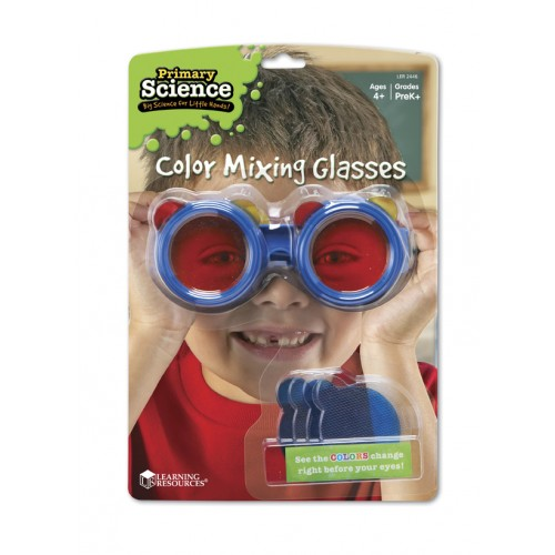Color Mixing Glasses - PrimaryScience