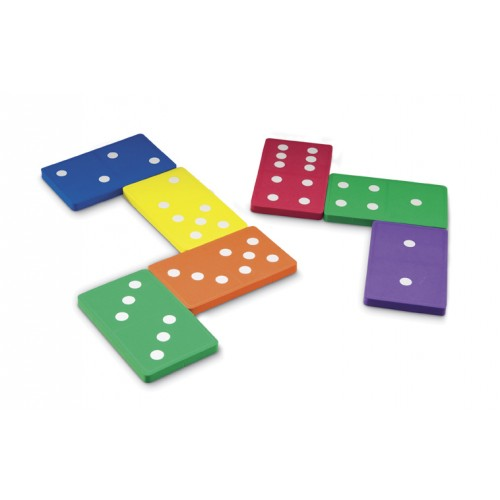Jumbo Foam Dominoes