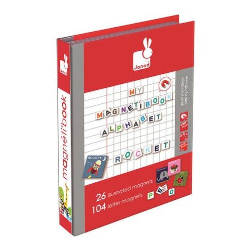 Magnetibook Letters (English)