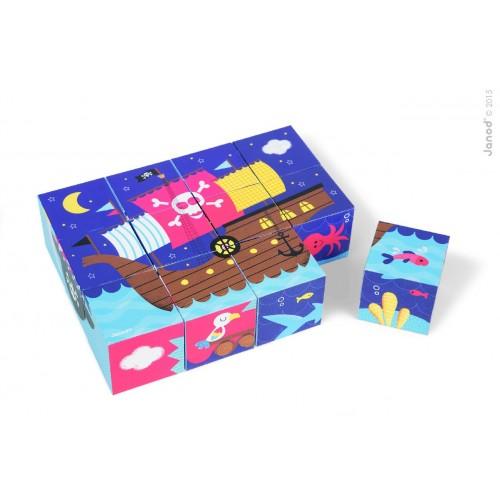 Kubkid 12 Blocks - Pirates