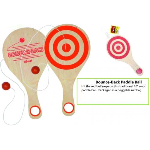 Bouce-Back Paddle Ball