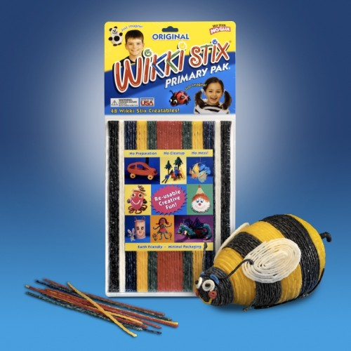 Wikki Sticks Primary Pak (48)