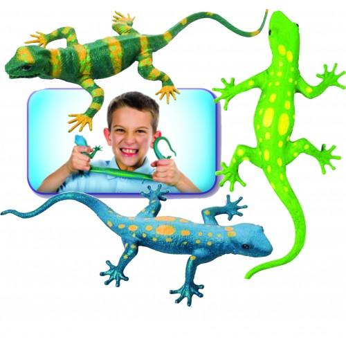 "Jumbo Lizard Squishimals 13"""