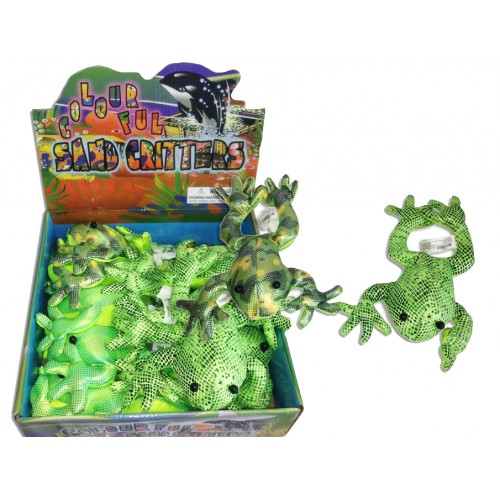 """Sand Animal Frog Jumbo 8"""""""