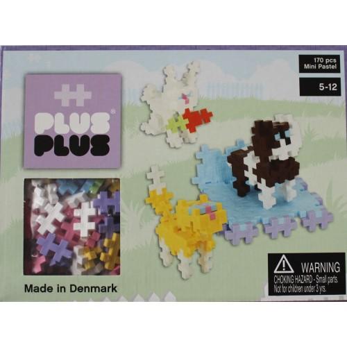 Plus Plus Pastel Pets 3D Puzzle (170)
