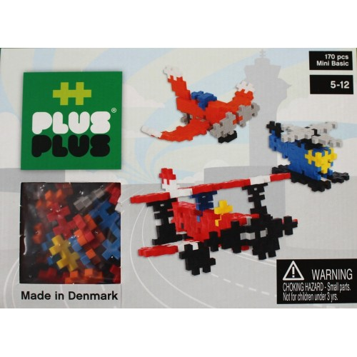 Plus Plus Air Craft 3D Puzzle (170 pcs)