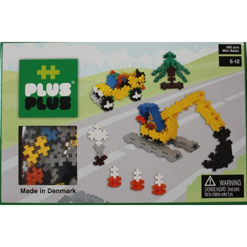 Plus Plus Construction 3D Puzzle Set (360)