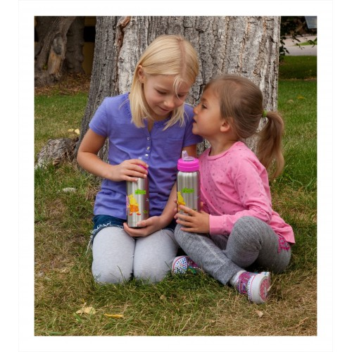 organicKidz® Thermal Stainless Steel Sippy Cups