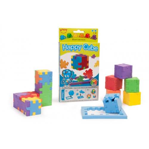 The Happy Cube - (3D-Puzzle 6 Pack)