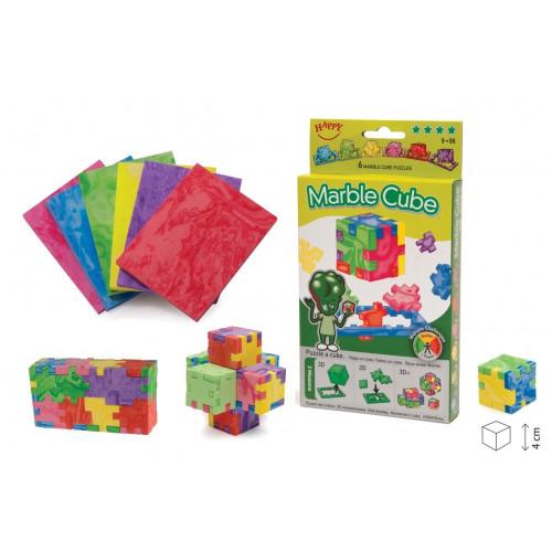 Marble Cube- Little Genious (3D Puzzle 6 Pack)