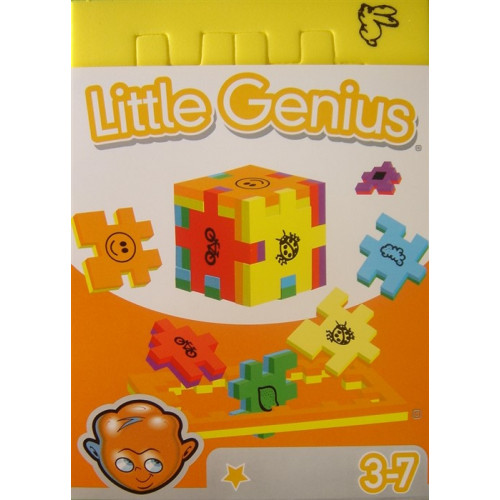 Little Genius Cube Single (3D-Puzzles) Ages 3+