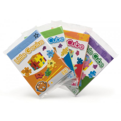 Little Genius Single (3D-Puzzels) Ages 3+
