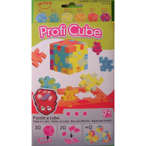 Happy-Profi Set of 6 Puzzle Cubes