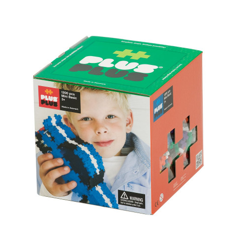 Plus Plus 3D Large 3D-Puzzle Set (1200 pcs)