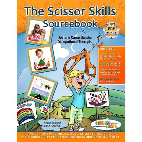 Scissor skills Items for Special Needs, Autistic & ASD children