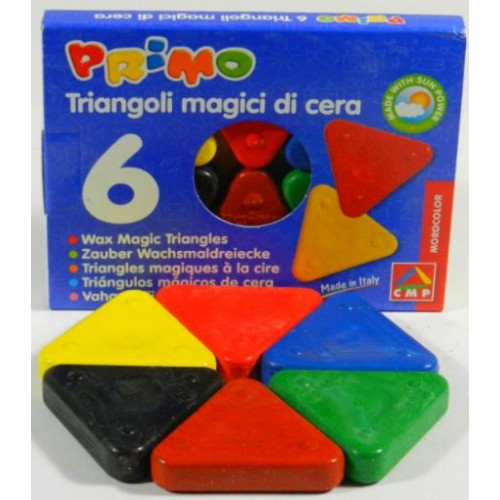 Wax Magic Triangle Crayons (Set of 6)