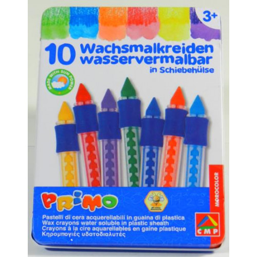 Water Soluble Wax Crayons (Set of 10)