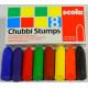 Chubbi Stumps Crayons. (Set of 8)