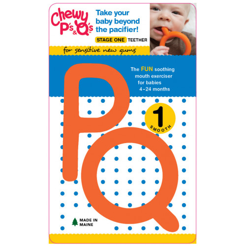 Chewable P's & Q's Two Pack (Teethers for Babies)