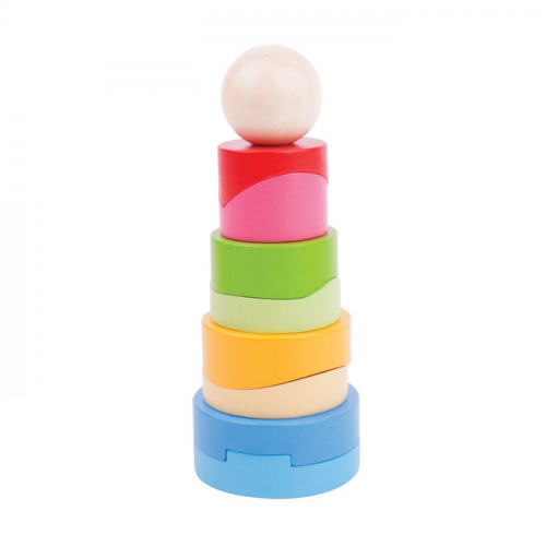 Circular Stacking Tower