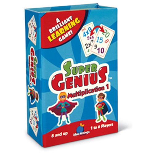 Super Genius (Multiplication) Game