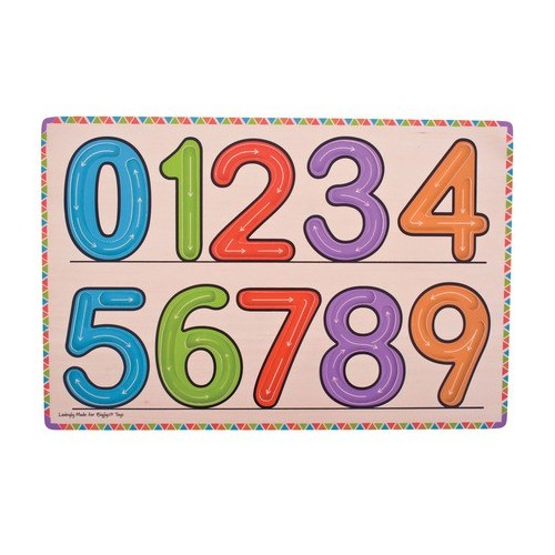 Learn To Write Numbers (Wooden)