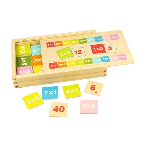 Times Table Wooden Box