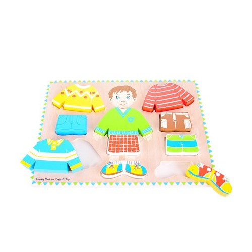 Dressing Boy Wooden Puzzle