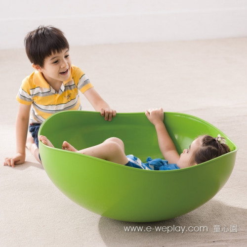 Weplay Rocking Bowl Green