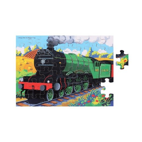 Flying Scotsman Wooden Puzzle (48 Piece)