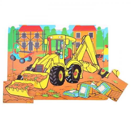 Tray Wooden Puzzle Digger