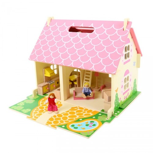 Heritage Playhouse Blossom Cottage (Dollhouse)