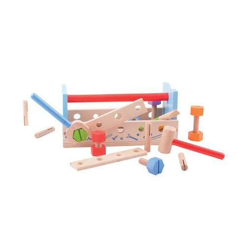 Bigjigs Toys Pretend Play Carpenters Bench Playset