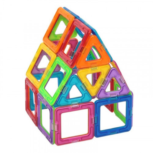 Magformers Rainbow Set Bilingual (30 pce)