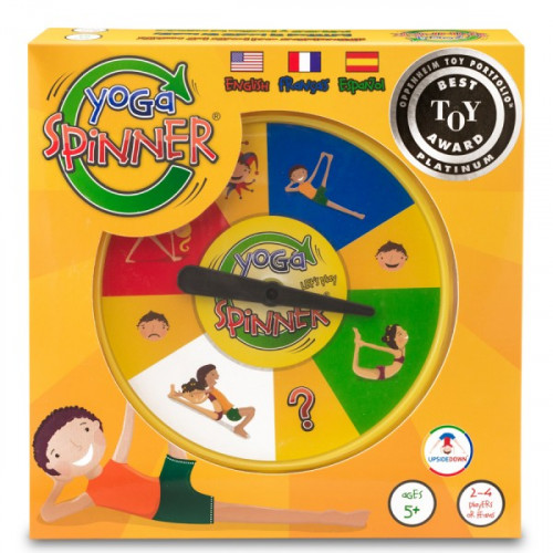 Yoga Spinner Multi-Lingual Game