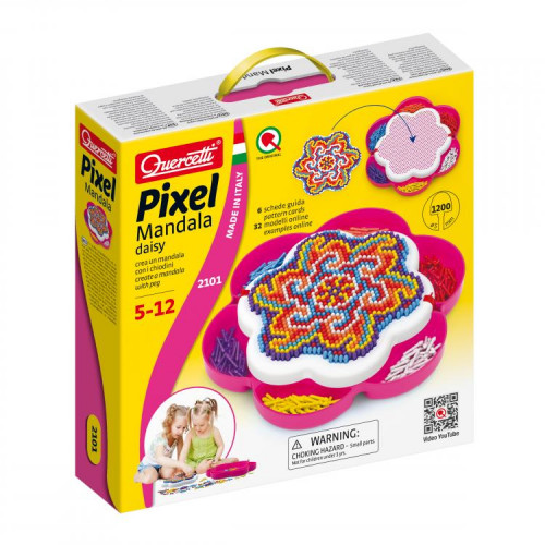 Pixel Mandala Daisy - Quercetti