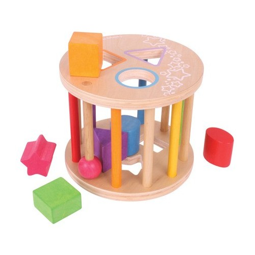 First Rolling Shape Sorter (Wooden)