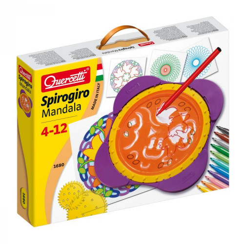 Spirogiro Mandala (Spiral Art) -Quercetti