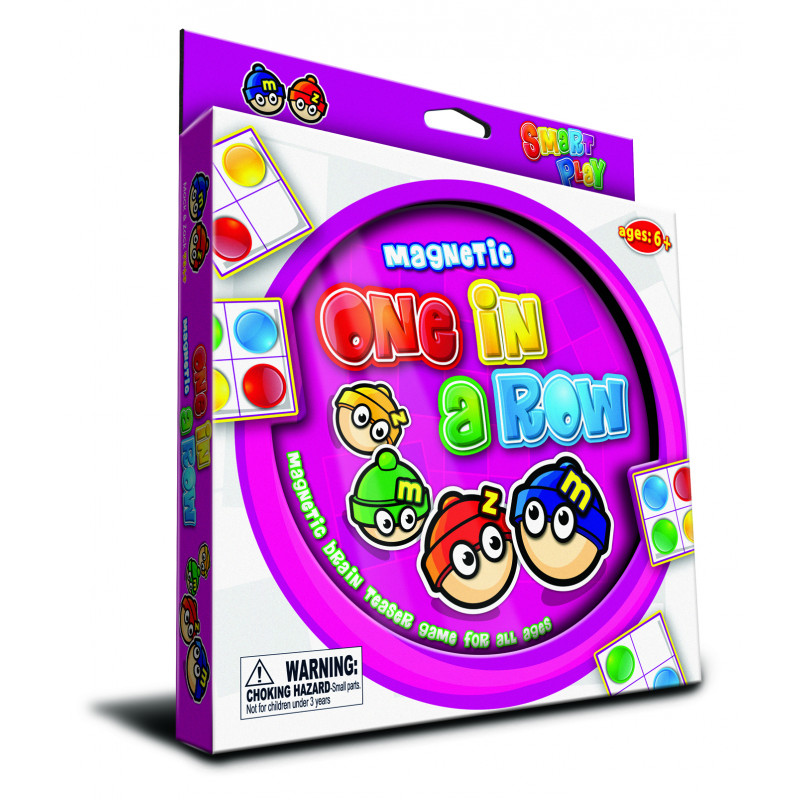 Magnetic One in a Row (Kids Sudoku)