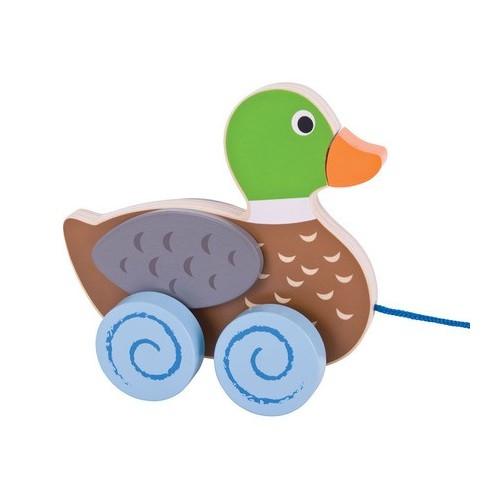 Pull Along Wooden (Duck)
