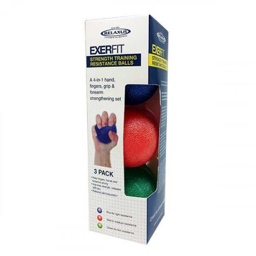 Exerfit Hand Therapeutic Gel Balls
